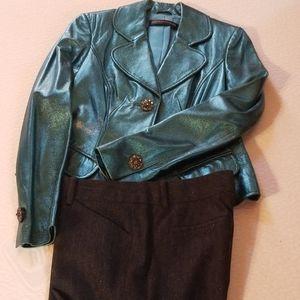 Christmas Jacket and Dress Slacks